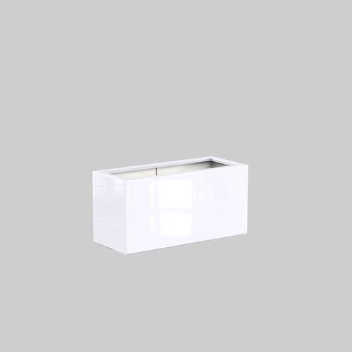 Adezz Producten Plantenbak Polyester Hoogglans Rechthoek Buxus 120x50x60cm
