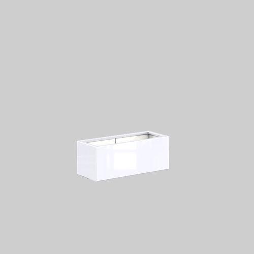 Adezz Producten Plantenbak Polyester Hoogglans Rechthoek Buxus 100x40x40cm