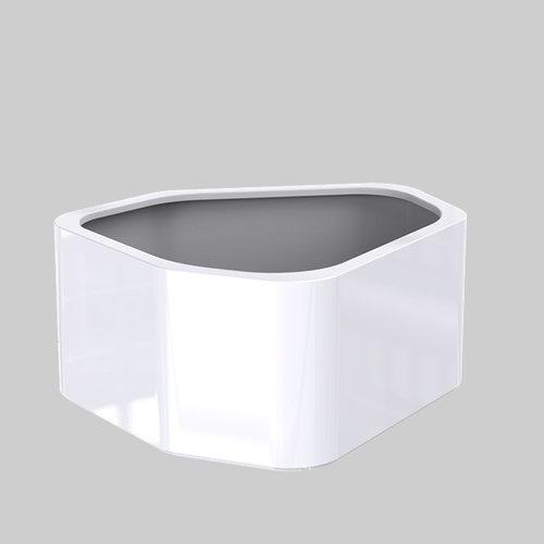 Adezz Producten Plantenbak Polyester Hoogglans Overig Shape 130x126x60cm