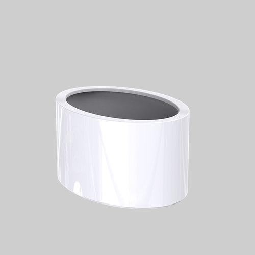 Adezz Producten Plantenbak Polyester Hoogglans Overig Ellipse 115x80x60cm