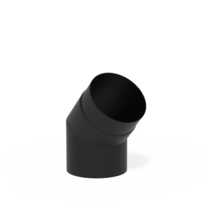 Forno Producten Forno Rookkanaal 45° Aluminium 2x154x200mm