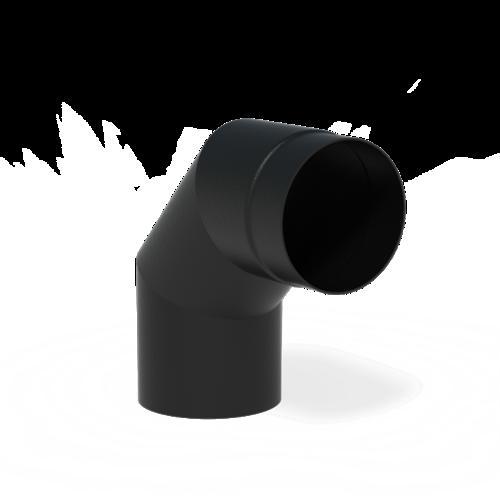 Forno Producten Forno Rookkanaal 90° Aluminium 2x154x200mm