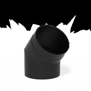 Forno Producten Forno Rookkanaal 45° Aluminium 2x204x200mm