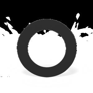 Forno Producten Forno Rookkanaal Rosette Rond Aluminium 2x204x2mm