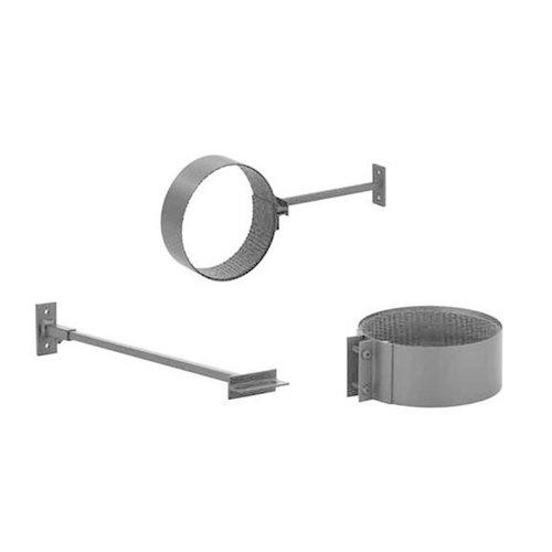 Forno Producten Forno Rookkanaal Muur Clip Aluminium 2x154x20mm