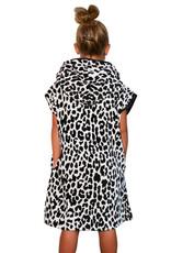 NTNK Leopard Pattern Surf Poncho