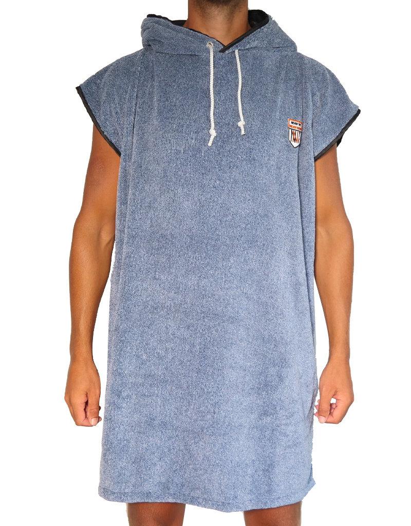NTNK Fluffy Blue Surf Poncho