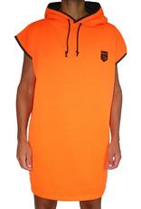 NTNK Wicked Orange Woody - Surf Poncho