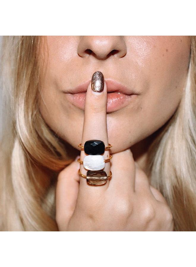 Ring Mary - Smokey Topaz