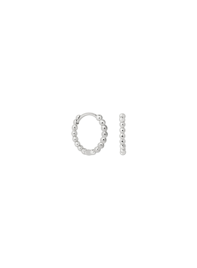 Dot Hoops - Cato sterling silver