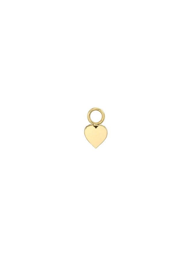 Heart Pendant - in gold plated sterling silver