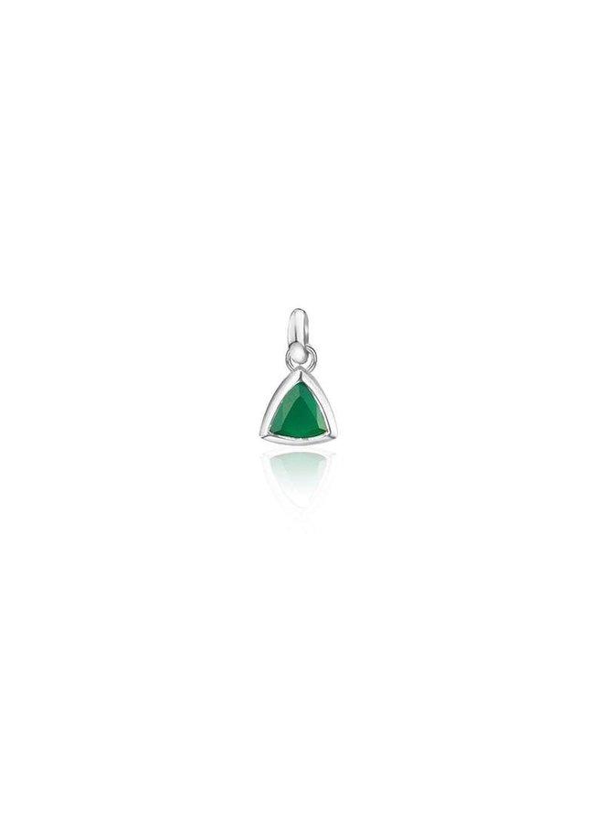 Birthstone pendant Green Onyx May