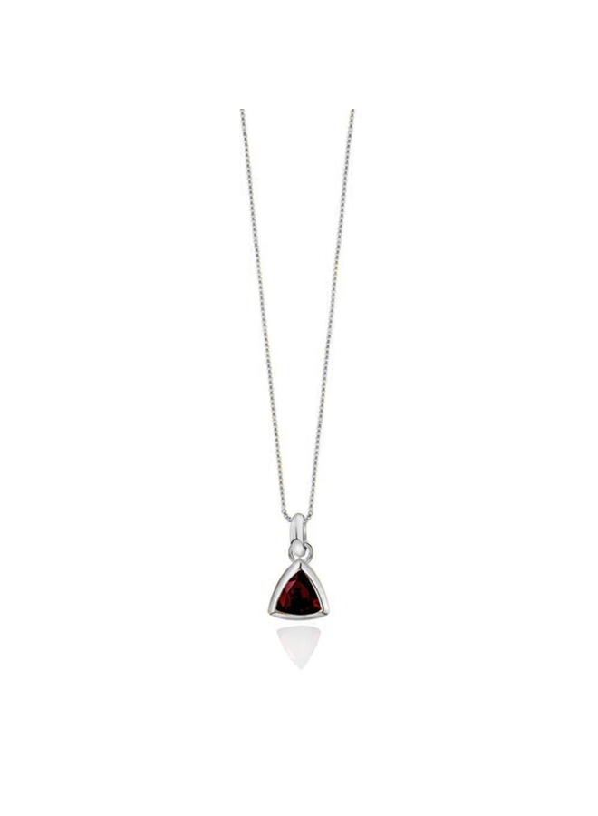 Birthstone pendant Garnet January