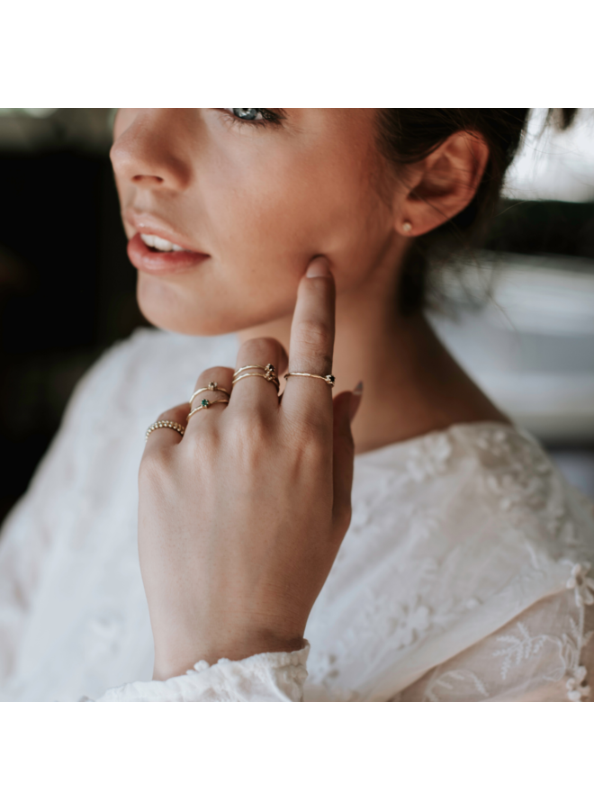 Vintage gedraaide ring