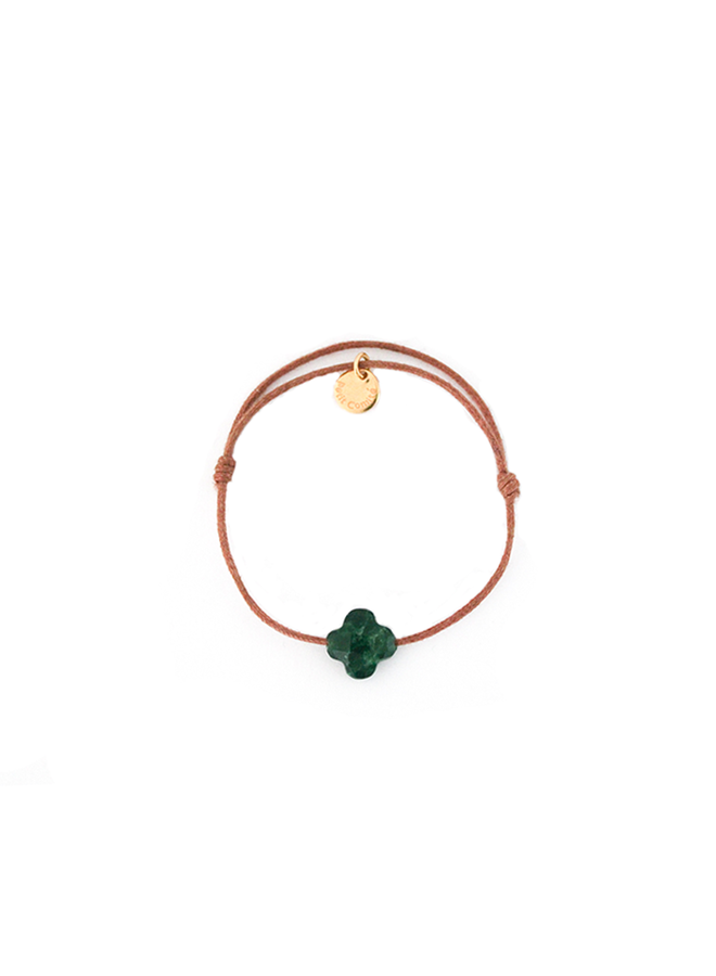 Armband Geboortesteen Mei Smaragd