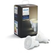Philips Hue spot - warm tot koelwit licht - 2-pack