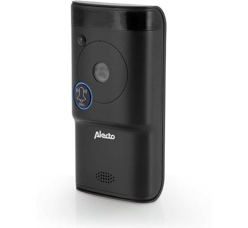Alecto DVC-1000 Wifi deurbel met camera - Monitor je deurbel wereldwijd met gratis app - Antraciet