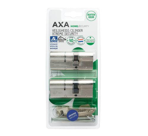 AXA AXA Dubbele veiligheidscilinder (2x) Xtreme Security verlengd 30-45