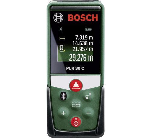 Bosch Bosch PLR 30 C Afstandsmeter - Tot 30 meter bereik - Bluetooth - Kleurendisplay