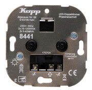 Kopp Koop duo-dimmer 230V Led lampen 2x 5 - 40W model 8441