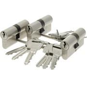 Nemef Nemef veiligheidscilinder 132/9 - Gelijksluitend - Met boorbelemmering - Anti Slagpick - Kerntrekbeveiliging - SKG***