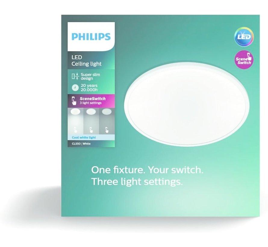 Philips Superslim 27K Plafonniere - LED - 15W - Koudwit 4000K