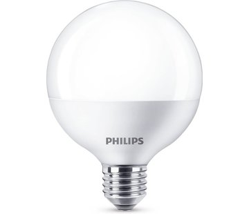 Philips LED lamp E27 16,5W 1521Lm grote bol mat