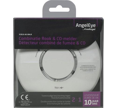 AngelEye Angeleye Combimelder SCB10-AE-BNLR - Rook en Koolmonoxide - 10 jaar accu