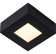 Lucide Lucide  BRICE-LED Plafonnière Badkamer - LED Dimb. - 1x8W 3000K - IP44 - Zwart