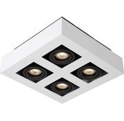 Lucide Lucide plafondlamp Xirax wit dimbaar 4x5W
