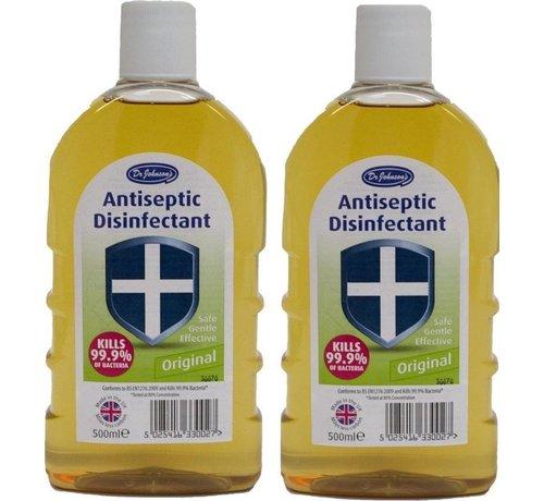 Dr. Johnson's  Ontsmettingsmiddel - 2x 500 ml