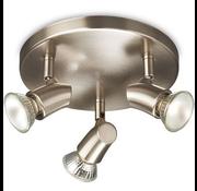 Philips Opbouwspot - Zilver Metaal - Philips Opbouwspot - Kinja Wandlamp