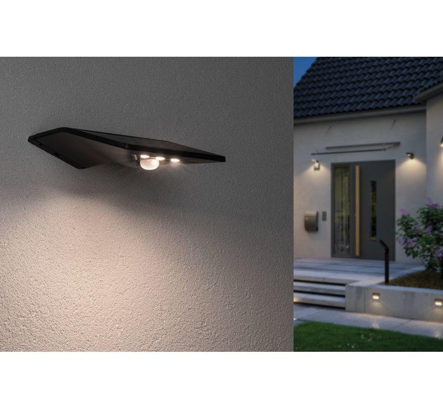 - Yoko - Buitenlamp Met Sensor - Automatische sensor - INCLUSIEF ACCU