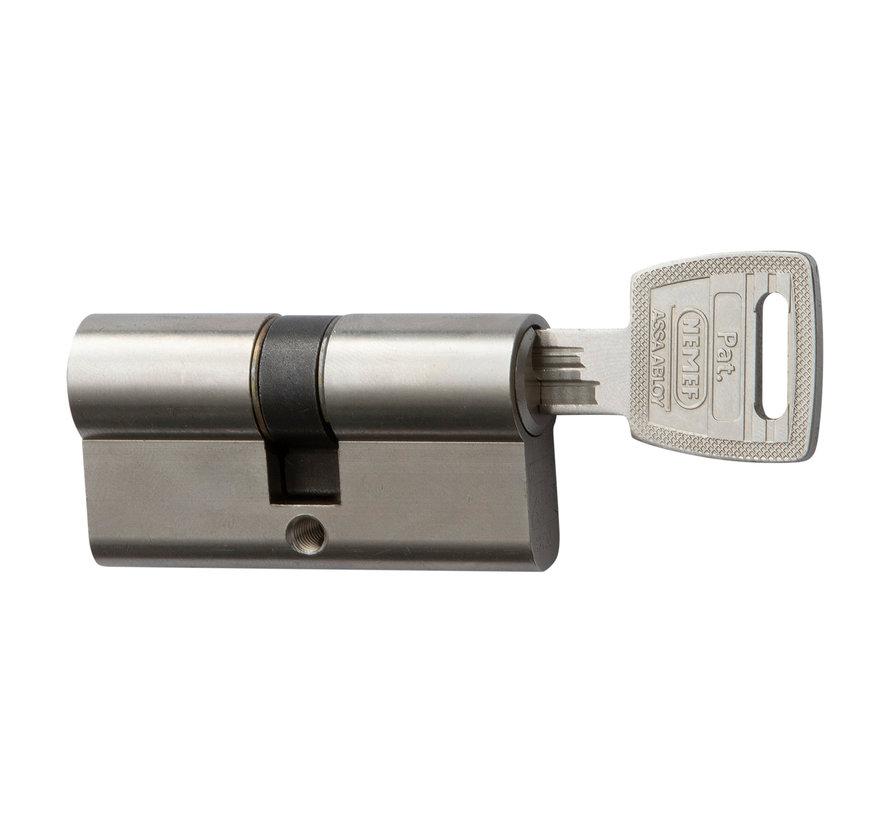 Nemef veiligheidscilinder 132/9P SKG 3-sterren gelijksluitend (3 stuks)