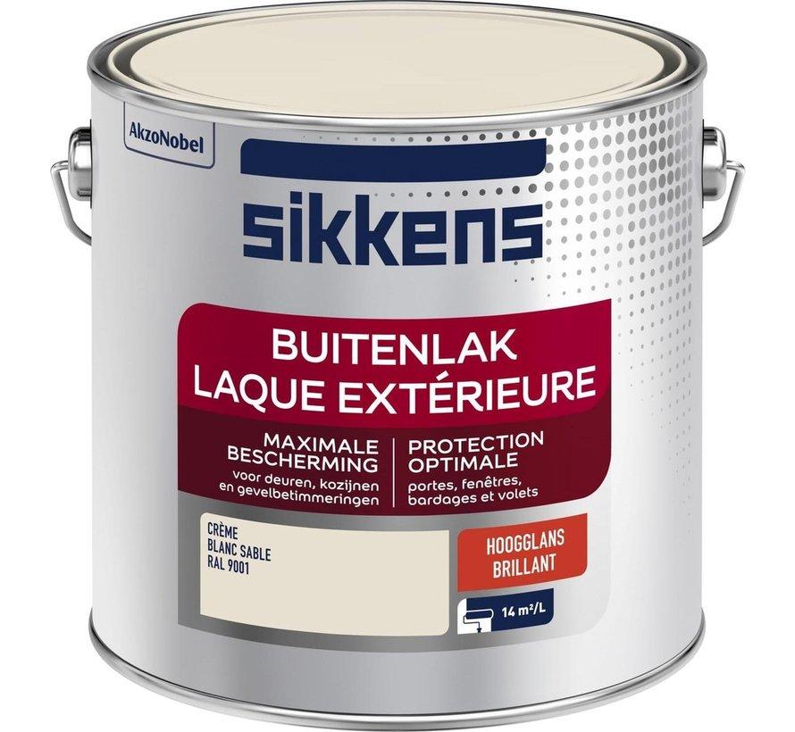 Sikkens Buitenlak Hoogglans Crème RAL 9001 2,5 L