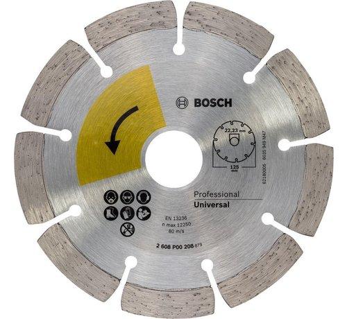 Bosch PROF. DIAMANTSCHIJF UNIVERSAL TOP , 125MM, 22.23