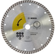 Bosch PROF. DIAMANTSCHIJF UNIVERSAL TURBO TOP , 230MM, 22.23 (1)