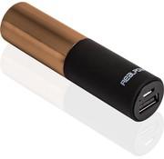 RealPower RealPower Powerbank Lipstick gold 2500 mHa