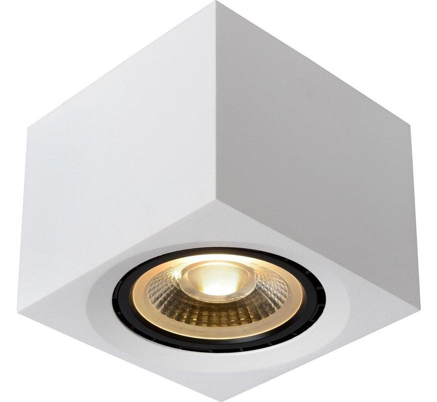 Lucide FEDLER - Plafondspot - LED Dim to warm - GU10 - 1x12W 2200K/3000K - Wit