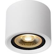 Lucide Lucide FEDLER - Plafondspot - Ø 12 cm - LED Dim to warm - GU10 - 1x12W 2200K/3000K - Wit