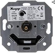 Kopp Kopp universele LED druk/draaidimmer 3-35w wissel inbouw R, L 8428