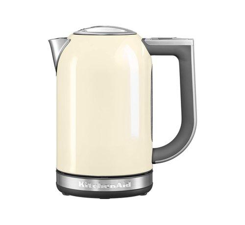 Kitchenaid KitchenAid 5KEK1722EAC - Waterkoker - 1.7 liter - 2400 W - crème