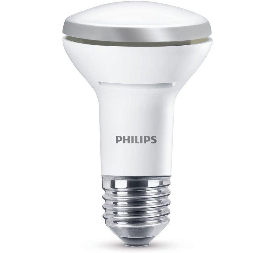 Philips - LED-lampje met reflector - vorm: NR50 - E27 - 5.7 W (equivalent 60 W) - klasse A+ - warm wit licht - 2700 K