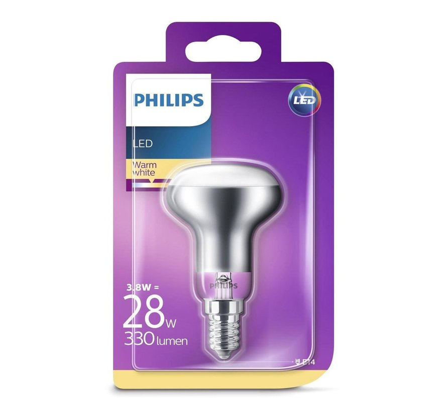 Philips LED Reflector 3,8W (28W) E14 warm wit