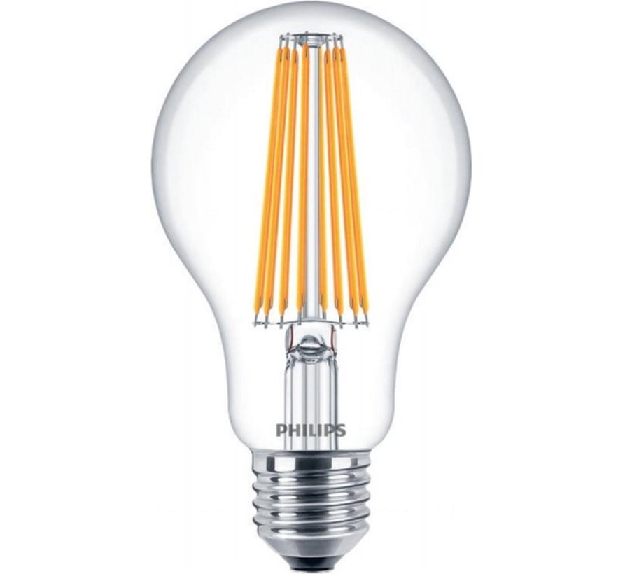 Philips Classic LEDbulb E27 A67 11W 840 Helder | Vervangt 100W