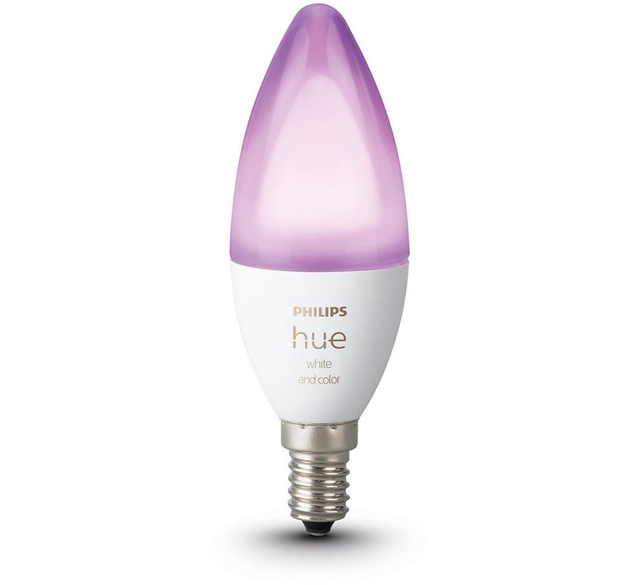 Philips Hue White and Color Ambiance Losse Kaarslamp E14 1-pack