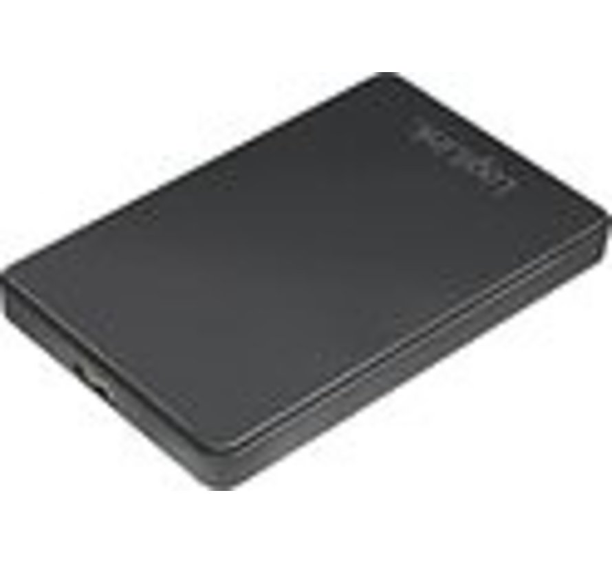 LogiLink UA0339 behuizing voor opslagstations 2.5'' HDD-/SSD-behuizing Zwart