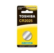 Toshiba Toshiba CR2025 BP-1C 3v lithium knoopcel batterij 10 stuks (10x blister 1 stuks)