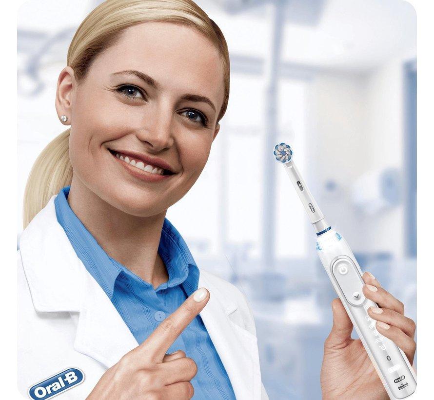 Oral-B 3D White - Opzetborstels - 8 Stuks