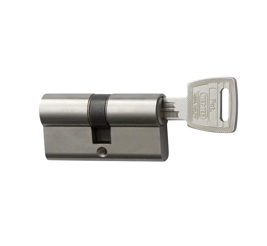 Nemef Veiligheidscilinder Dubbel 132/9P - 2 stuks gelijksluitend incl. 6 sleutels - SKG***